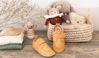 Easy Peasy : le retour des chaussures de pré-marche