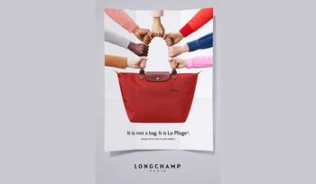 Fred & Farid plient la campagne de Longchamp