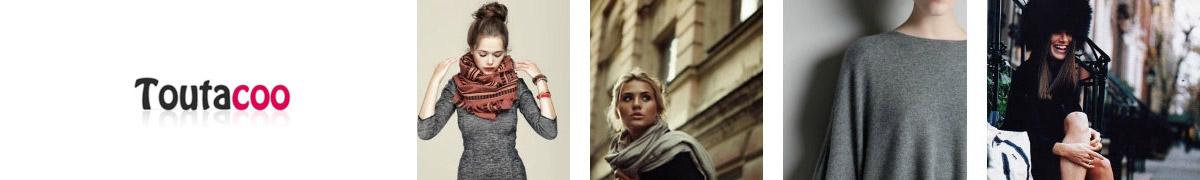 45ab48b77cd Toutacoo Echarpe en Laine Moutarde Jaune - Accessoires textile ...