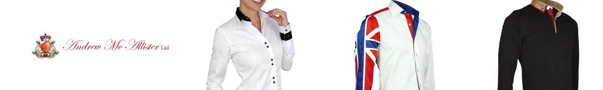 efe67223aefed Andrew Mac Allister chemise tendance new weave blanc Blanc ...