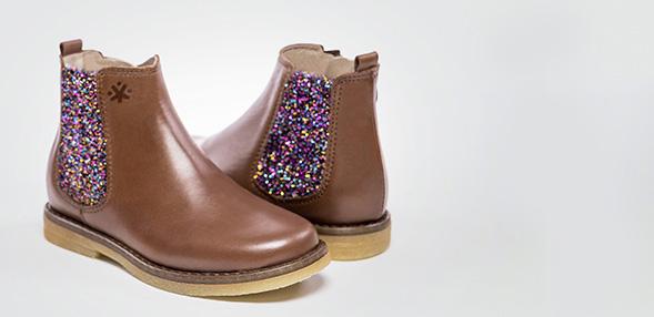 Veja Botinha Lace & Zip, Boots Mixte Enfant Bleu (Nautico