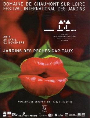 Le festival international des jardins de Chaumont-sur Loire