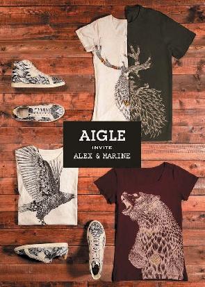 Aigle, adoptez la Wild attitude