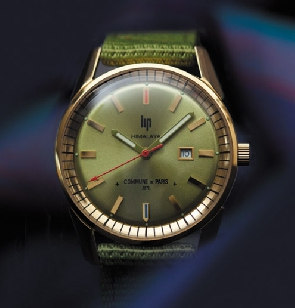 Lip X Commune de Paris, des montres rétro, bluffantes et accessibles
