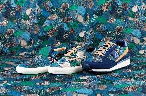 Le Coq Sportif X Liberty Art Fabrics, une collaboration très florale