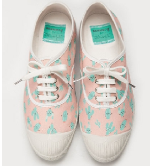 Bensimon x Mr Wonderfull, des tennis pleines de tendresse