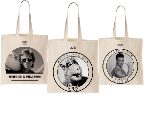 Cool and the bag X La Tamponneuse, des Tote bags très 80's